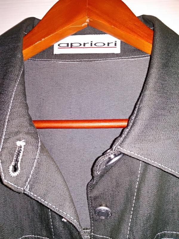 """apriori  escada group"" трендовый  пиджак, куртка джинс - Фото 5"