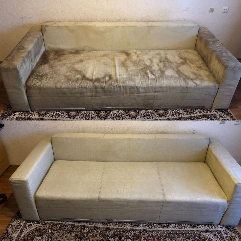 Выездная химчистка мягкой мебели и ковровых покрытий в Черкассах - Фото 4