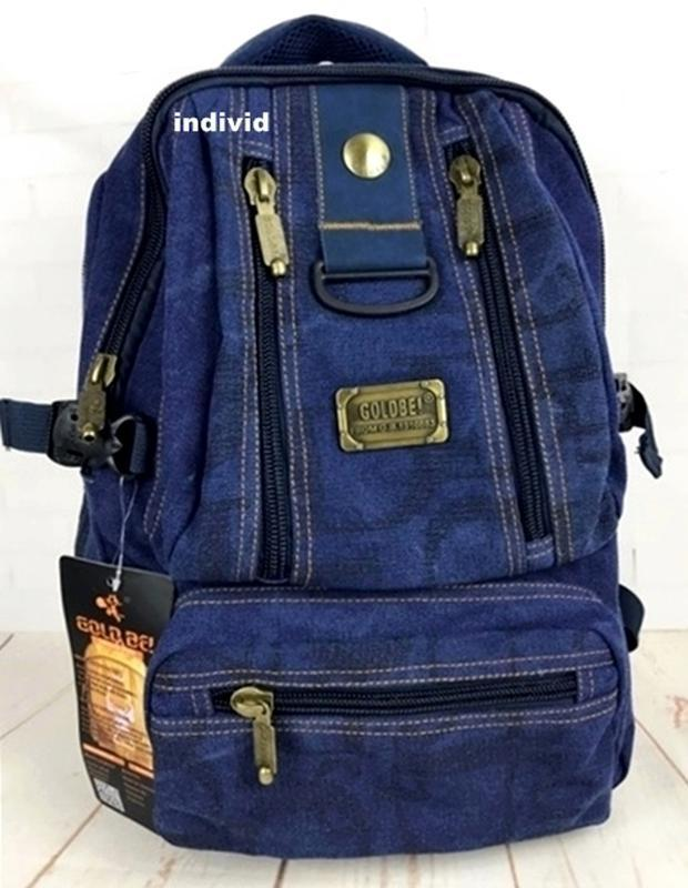Сумка, ранец, спортивный рюкзак. мужской рюкзак gold be. город... - Фото 5