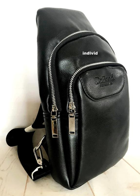 Барсетка bond. мужская сумка бананка. мужской рюкзак бонд сумк... - Фото 5