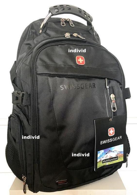 Швейцарский рюкзак swissgear c j3 выход. мужской рюкзак. сумка... - Фото 2