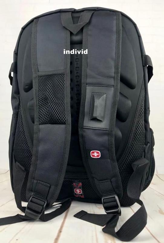 Швейцарский рюкзак swissgear c j3 выход. мужской рюкзак. сумка... - Фото 3