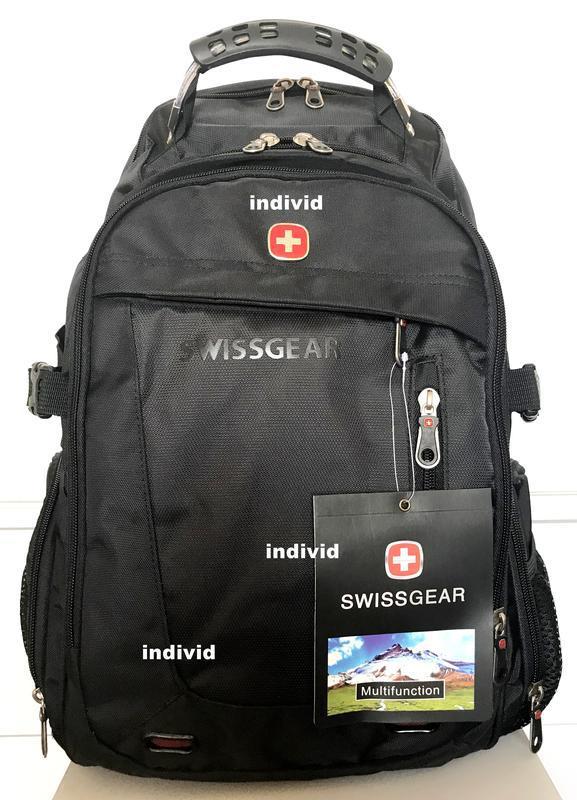 Швейцарский рюкзак swissgear c j3 выход. мужской рюкзак. сумка... - Фото 4