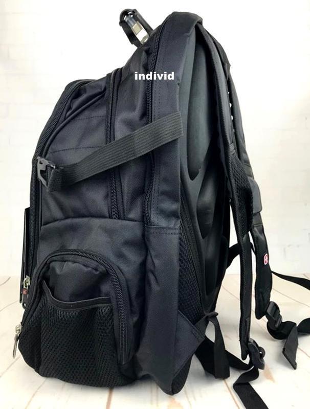 Швейцарский рюкзак swissgear c j3 выход. мужской рюкзак. сумка... - Фото 5