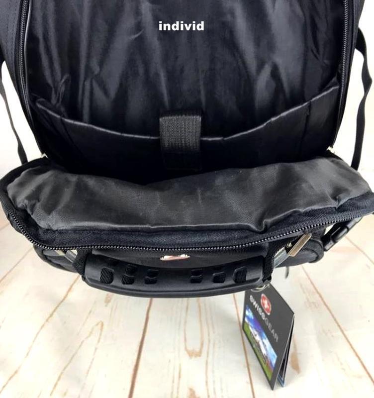 Швейцарский рюкзак swissgear c j3 выход. мужской рюкзак. сумка... - Фото 8