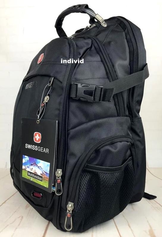 Швейцарский рюкзак swissgear c j3 выход. мужской рюкзак. сумка... - Фото 9