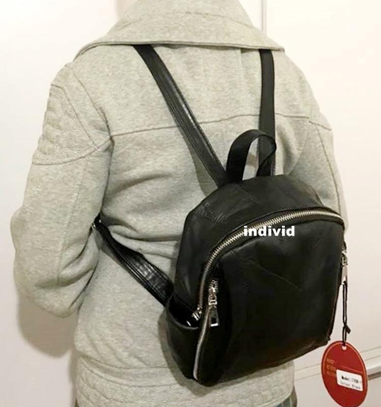 Акция! рюкзак alex rai из кожи. кожаная женская сумка алекс ре... - Фото 6