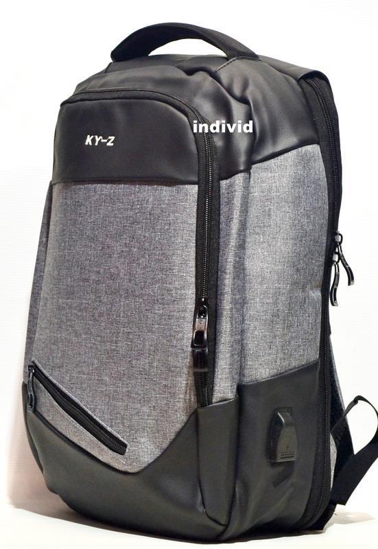 """Городской рюкзак  """"антивор"""" с отделением для ноутбука. мужская... - Фото 3"""