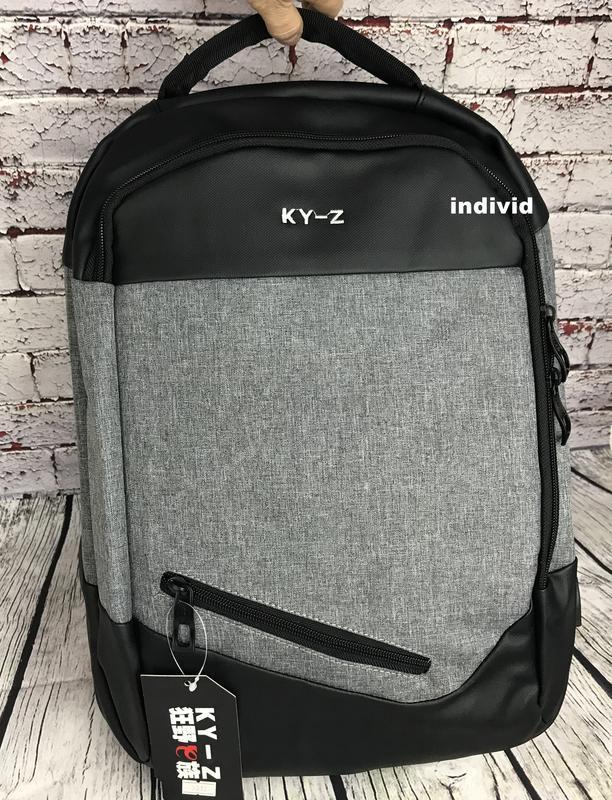 """Городской рюкзак  """"антивор"""" с отделением для ноутбука. мужская... - Фото 4"""