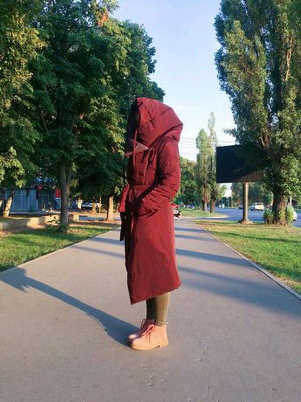 Пальто-одеяло, пальто одеяло, пуховик, куртка - Фото 3