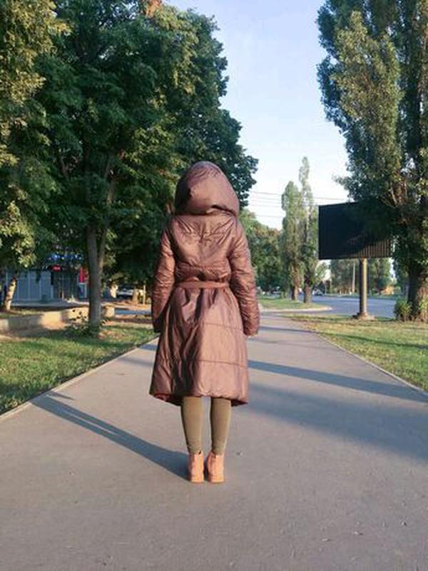 Пальто-одеяло, пальто одеяло, пуховик, куртка - Фото 4