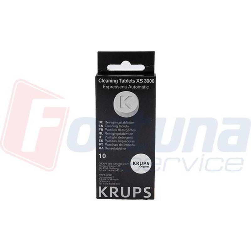Таблетки для удаления кофейного жира кофемашин (10шт.) Krups