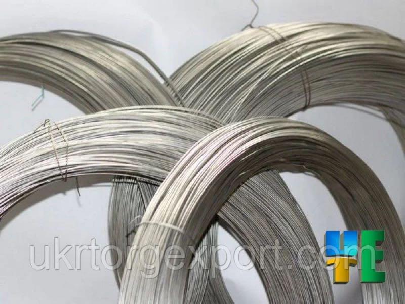 Проволока нержавеющая пружинная AISI302 от 0,25мм до 10мм