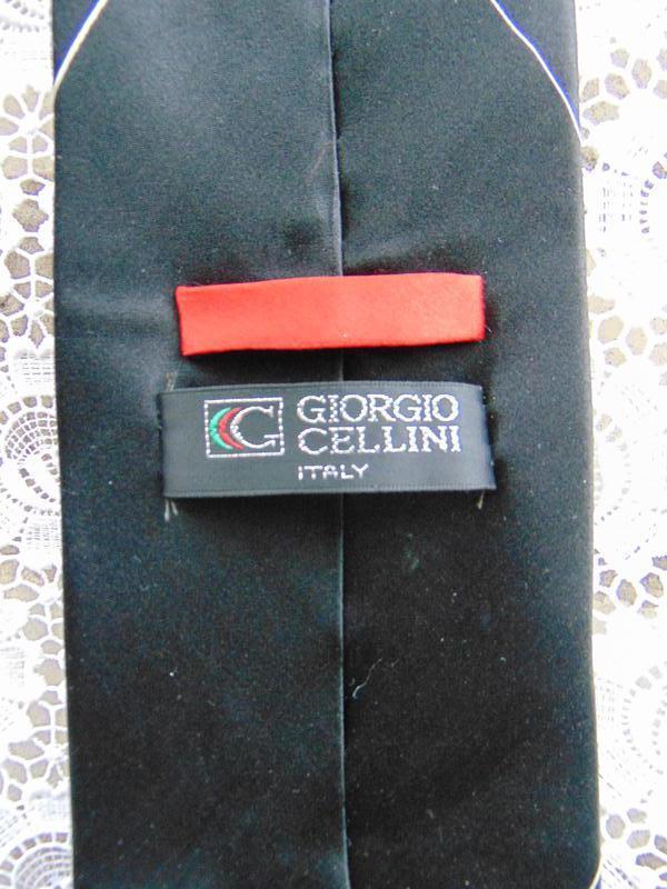 Шелковый галстук giorgio cellini - Фото 2