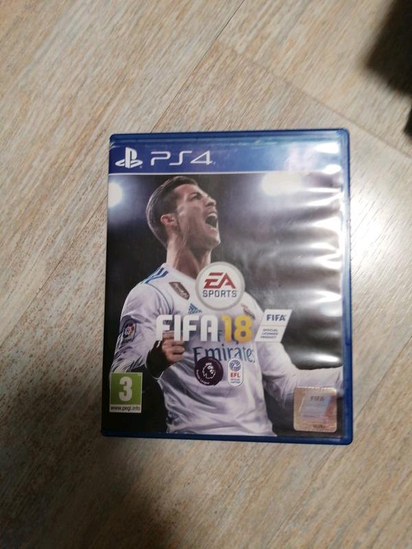 Игра на PlayStation 4 Fifa 18