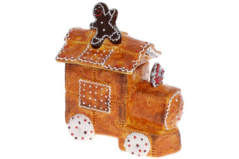 Банка для сладостей керамическая Пряничная Машина 900мл BonaDi...