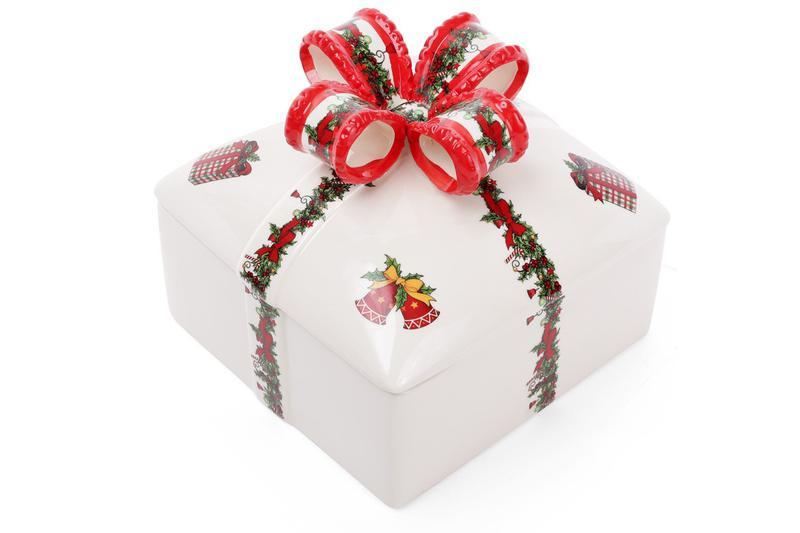 Керамическая банка для печенья Подарок, 1,8л BonaDi 923-201 ТО...