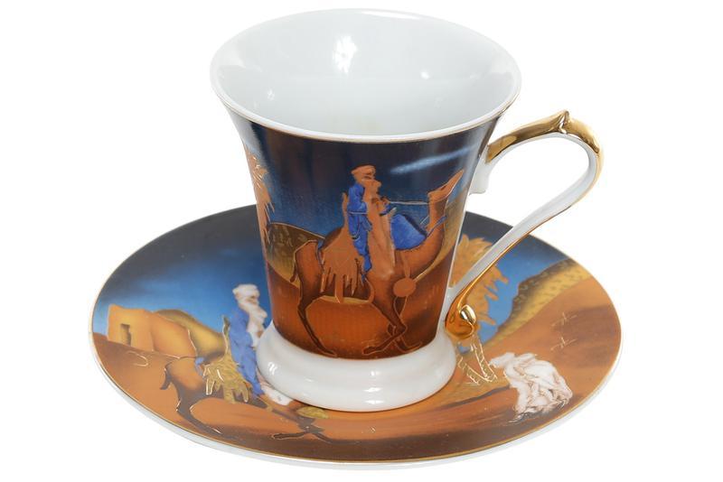 Чашка с блюдцем BonaDi SA1-997 ТОВАР ОТ ПРОИЗВОДИТЕЛЯ + ПОДАРОК
