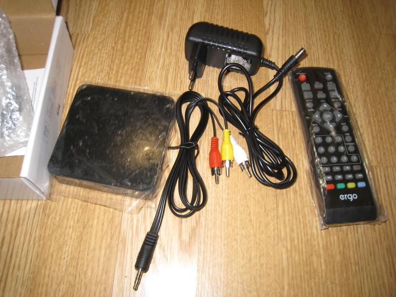 TV Тюнер цифровой Т2 DVB-T2 Ergo 302 USB -HDMI Full HD - Фото 4
