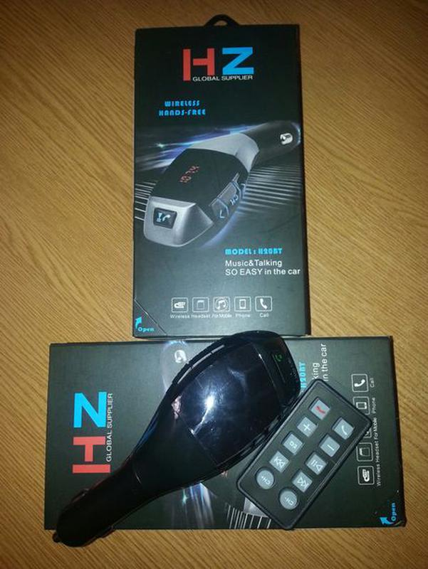 Авто Bluetooth FM модулятор HZ, H20BT c пультом