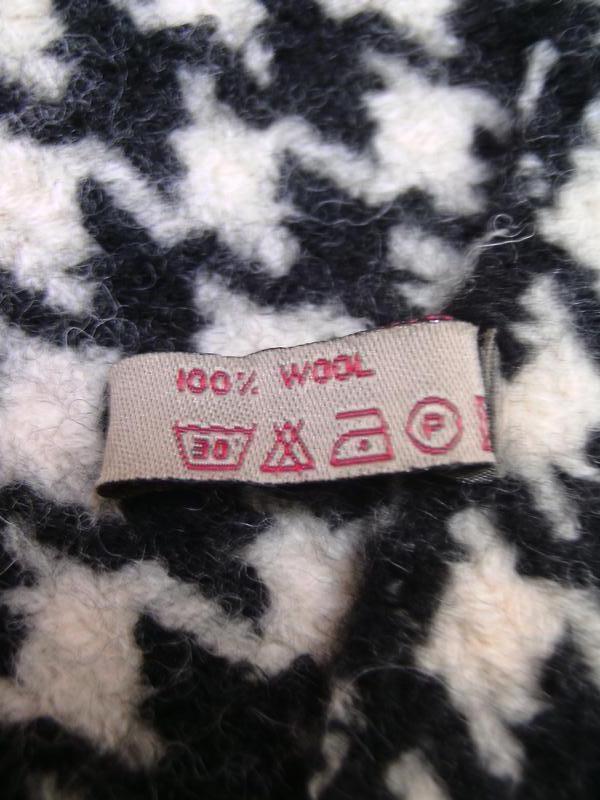 Толстый шерстяной шарф. - Фото 2