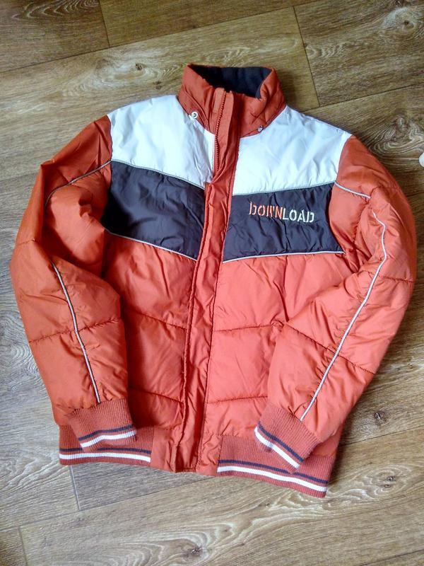 Мужская либо подростковая теплая куртка