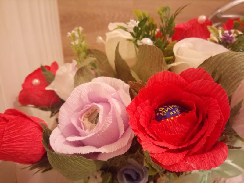 Букеты из конфет - Фото 2