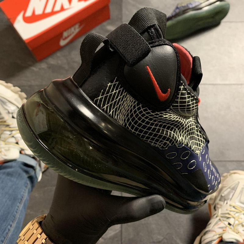 Nike air max 720 sneakerboots black blue. - Фото 2