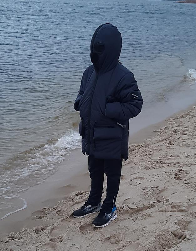 Зимняя курточка для мальчика 9-11 лет