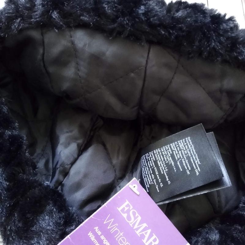 Зимняя шапка ушанка esmara женская - Фото 5