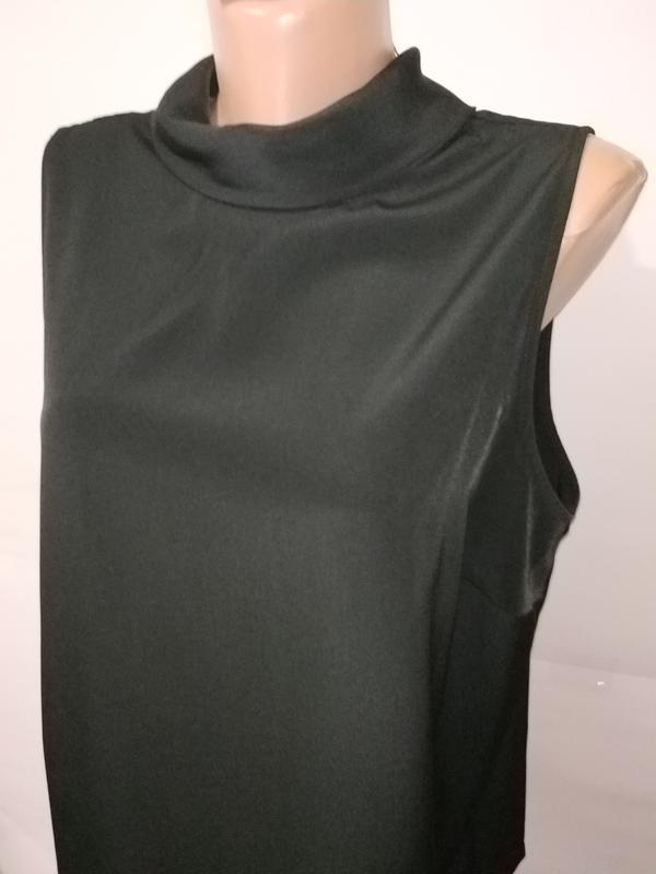 Блуза черная новая базовая papaya uk 16/44/xl - Фото 3