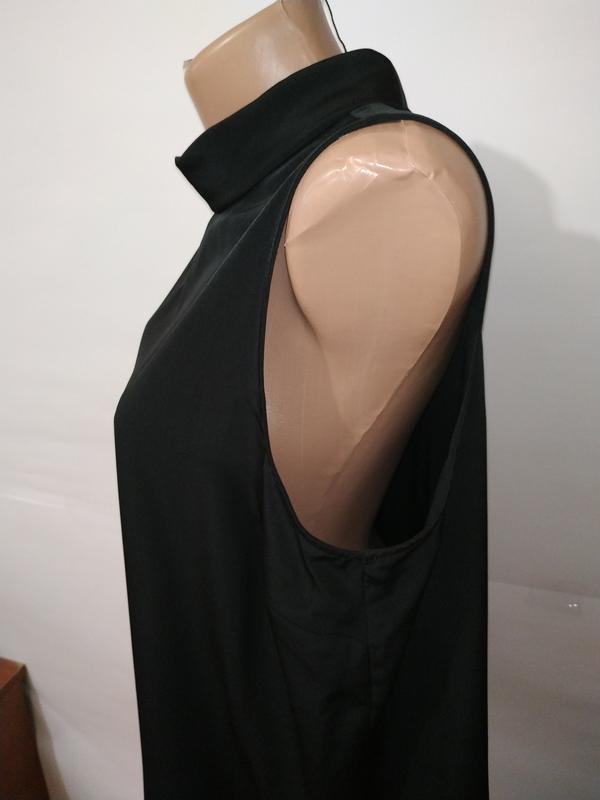 Блуза черная новая базовая papaya uk 16/44/xl - Фото 4