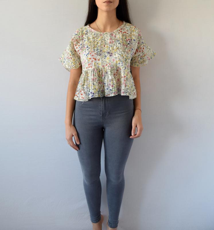 Блуза zara (новая, с биркой)