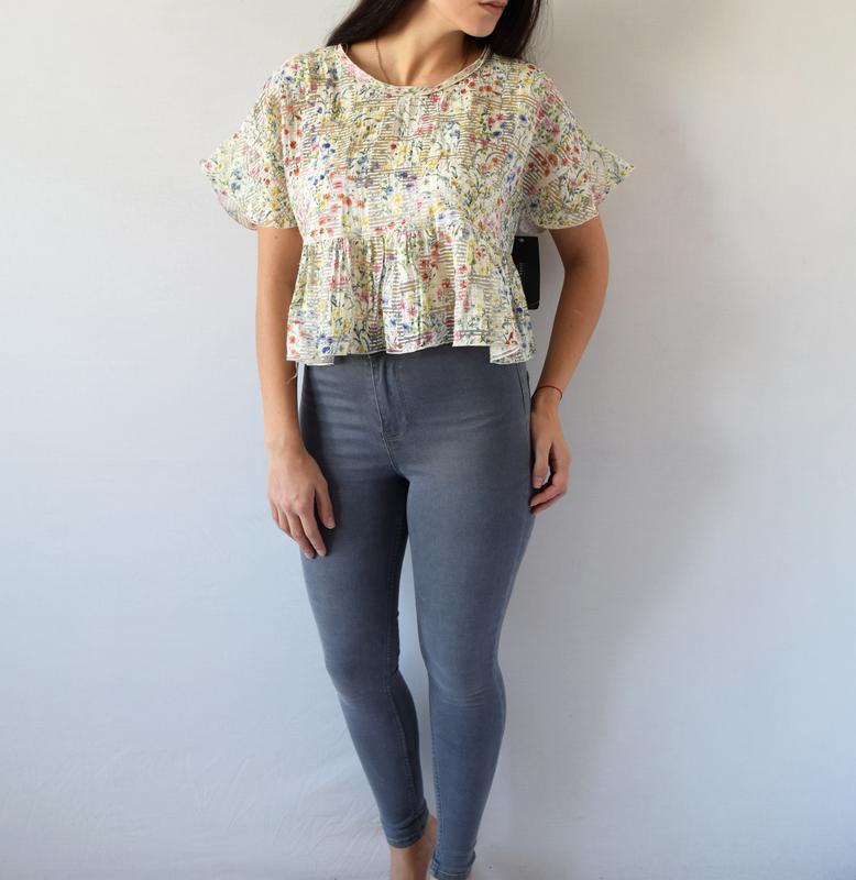 Блуза zara (новая, с биркой) - Фото 2