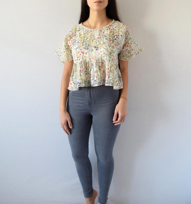 Блуза zara (новая, с биркой) - Фото 3