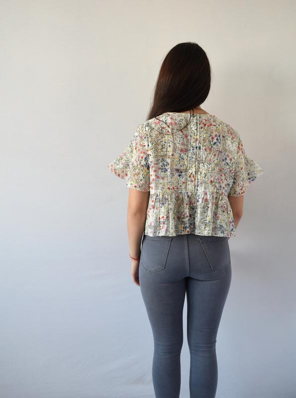 Блуза zara (новая, с биркой) - Фото 4