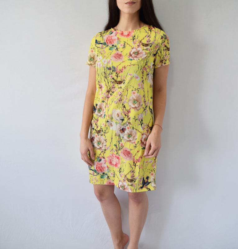 Платье в цветочный принт alice&you - Фото 2