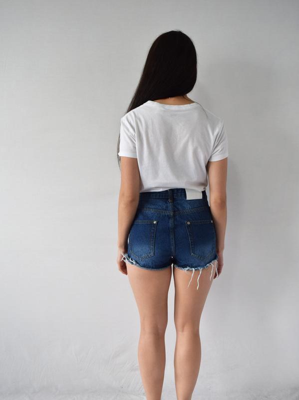 Джинсовые шорты boohoo - Фото 3