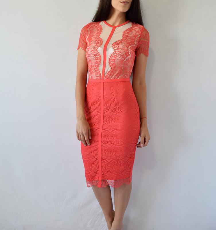 Платье с кружевом missguided - Фото 3