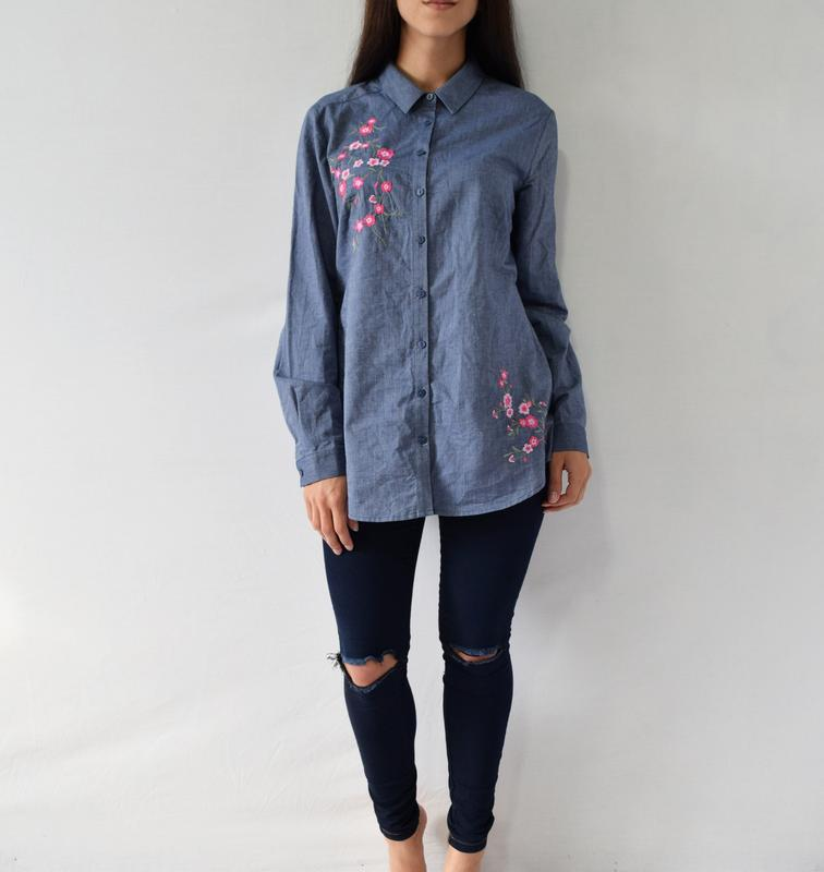 Рубашка с вышивкой bonmarche
