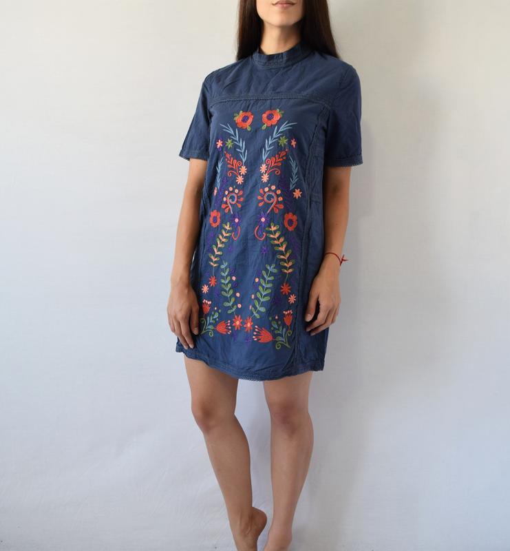 Платье с вышивкой fashion union - Фото 2