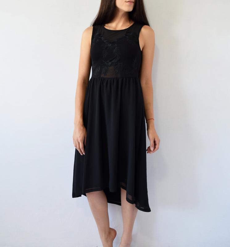 Платье с вышивкой h&m - Фото 3