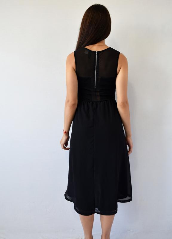 Платье с вышивкой h&m - Фото 4