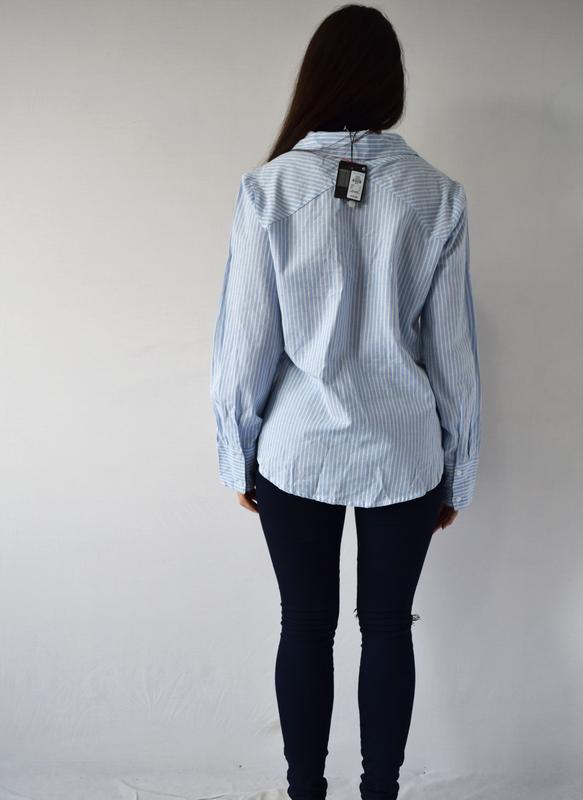Блузка с шнуровкой (новая, с биркой) atm - Фото 3