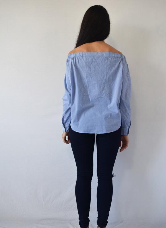 Блузка zara - Фото 3