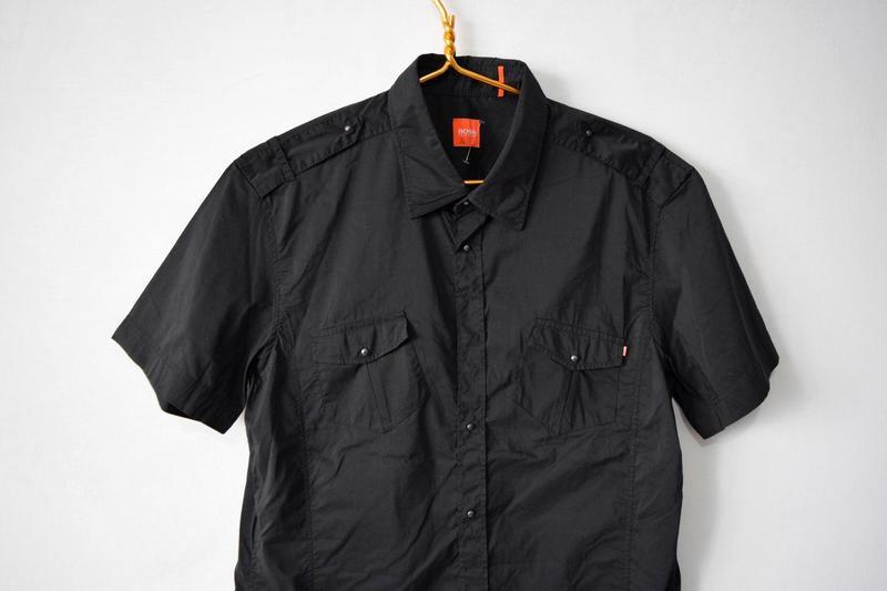 Рубашка с коротким рукавом boss - Фото 2