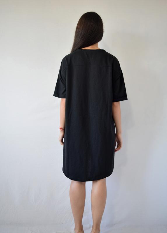 Платье zara с карманами - Фото 5