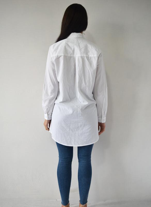 Удлиненная рубашка с вышивкой atm (новая, с биркой) - Фото 4