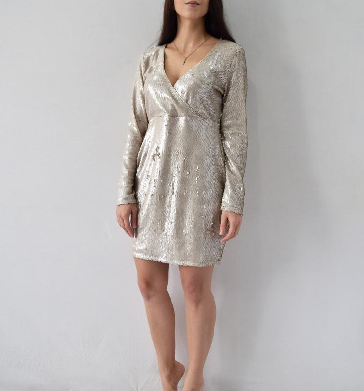 Платье в пайетки boohoo - Фото 2