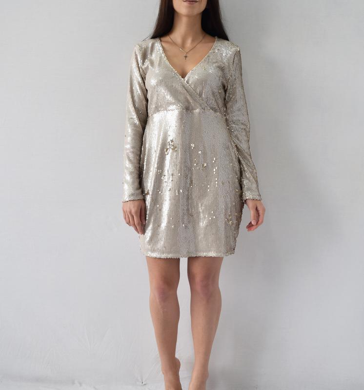 Платье в пайетки boohoo - Фото 3